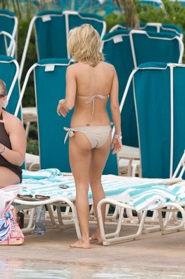 Carrie Underwood in a bikini